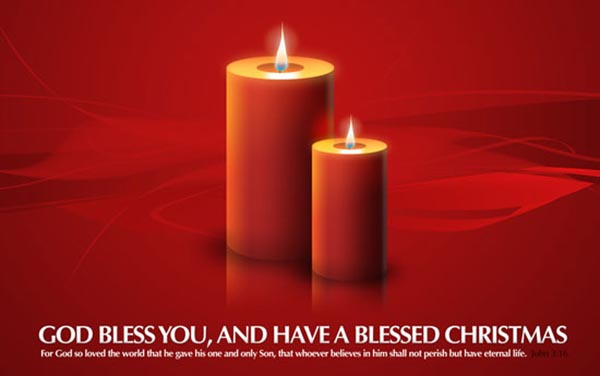 free-Christmas-candles-Wallpaper-HD-image