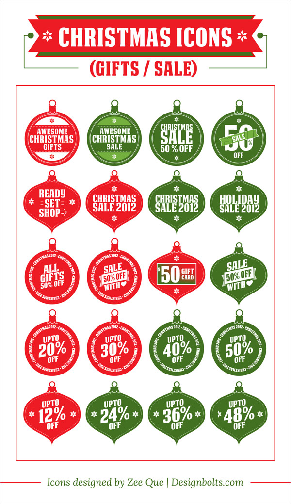 free-Christmas-gifts-sale-icon-set-vector