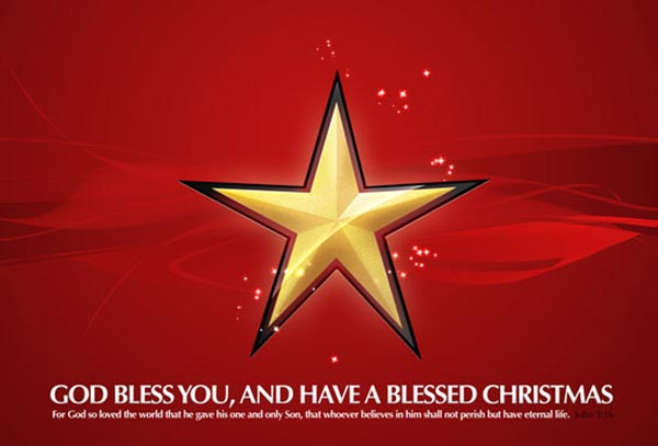 free-Christmas-golden-star-Wallpaper-HD-image