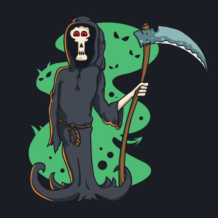 free-death-character-vector