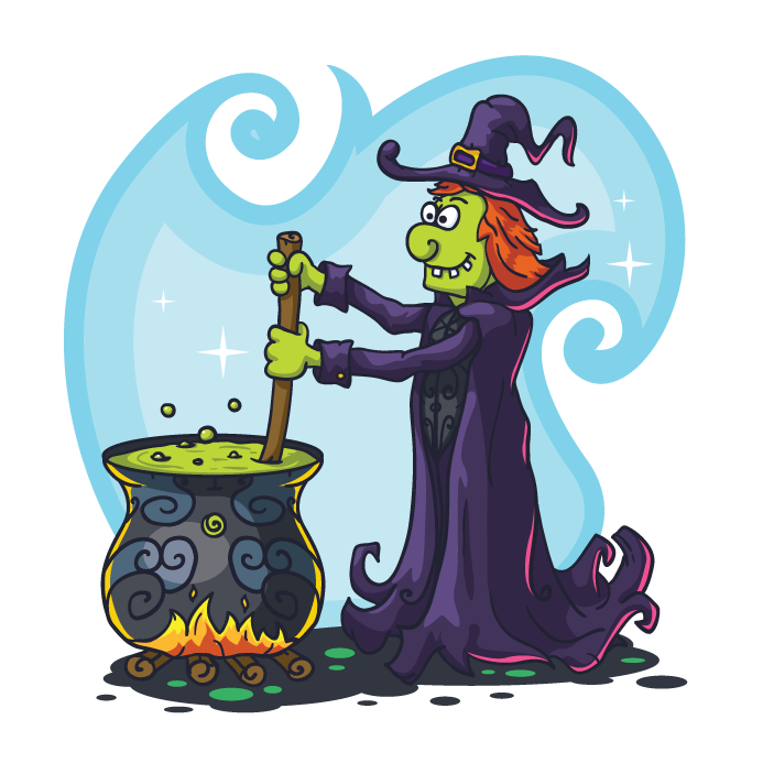 free_vector_witch-vector