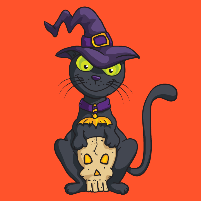 halloween-witch-cat-vector