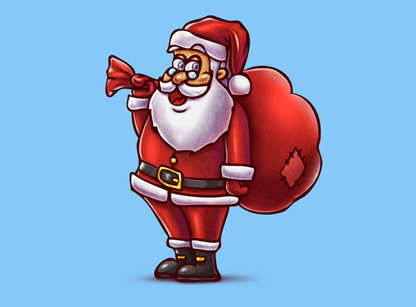 santa_icon-business christmas cards
