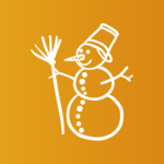 snow boy christmas clip art