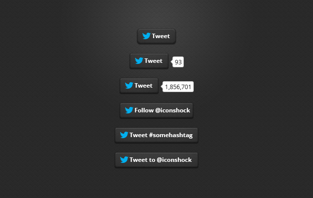 twitter buttons, twitter button, twitter follow button, twitter share button, twitter widget, button (9)