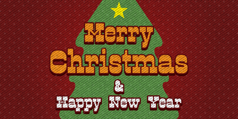 5 free vintage merry christmas and happy new year greetings cards 2014
