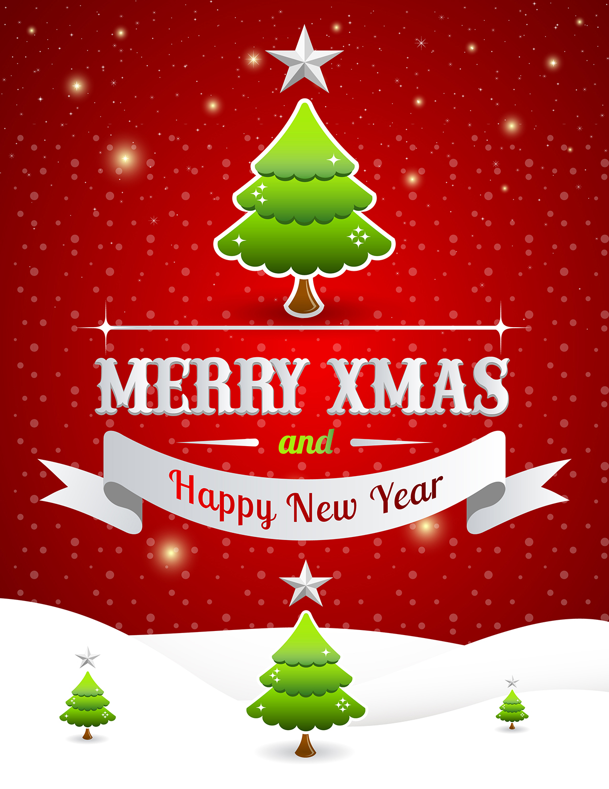 Free Christmas Poster Template 2014 A Graphic World – Christmas Poster Template