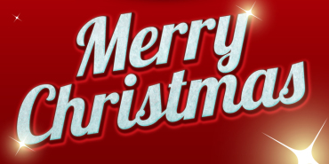 Free Merry Christmas Text Effect 2014