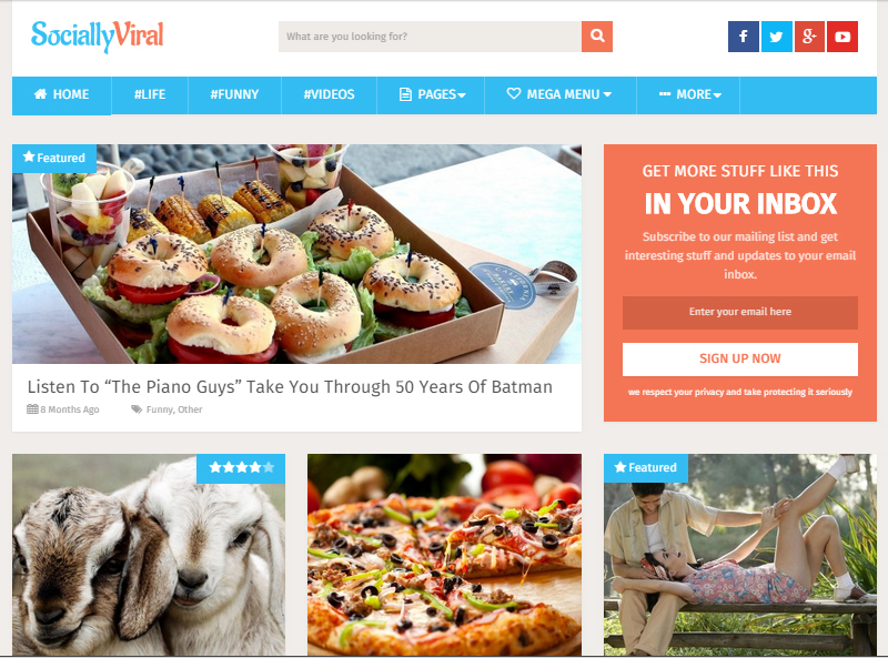 SociallyViral-WordPress-Theme