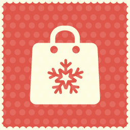 christmas shopping icon 2