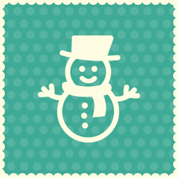 christmas snow boy icon 2