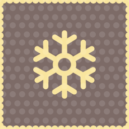 christmas snow particle icon2