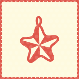decoration star christmas icon