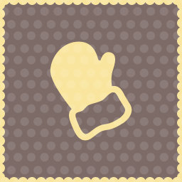 gloves christmas icon