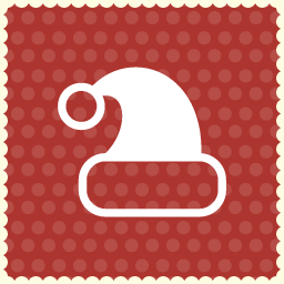 hat christmas icon