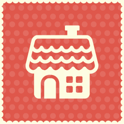 home christmas icon