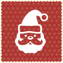 santa claus christmas icon 2