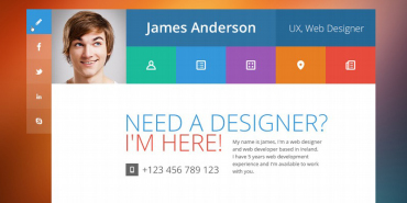 19 Professional Online Resume & CV WordPress Themes 2014