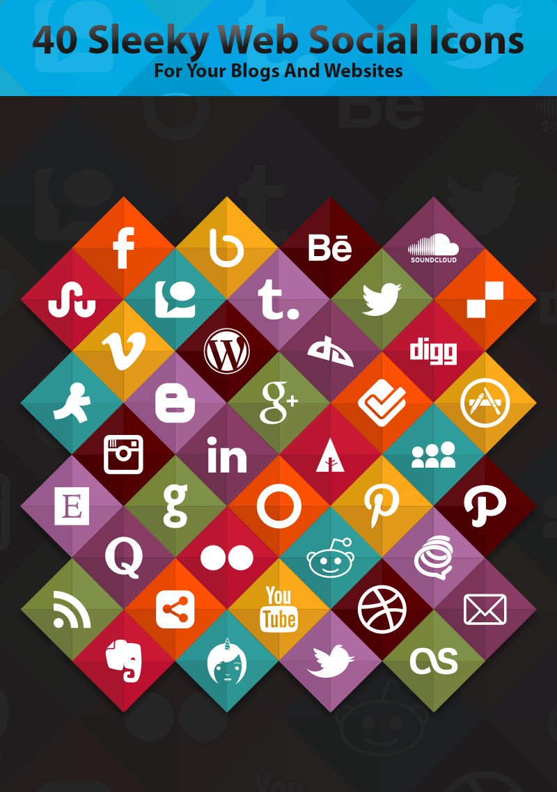 40-Sleeky-Web-Social-Icons-For-Your-Blogs-And-Websites