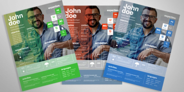 5 Free Extremely Professional Resume Templates Collection 2014