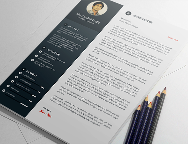Free Awesome Resume Template 3