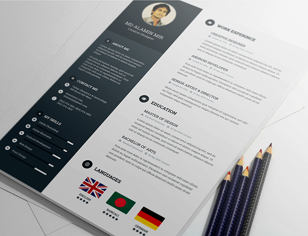 Free Awesome Resume Template