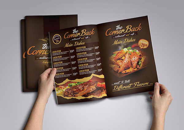 Restaurant And Cafe Menu 2