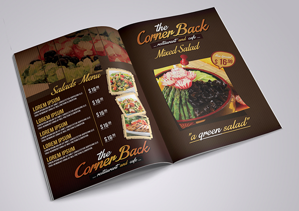 Restaurant And Cafe Menu 3