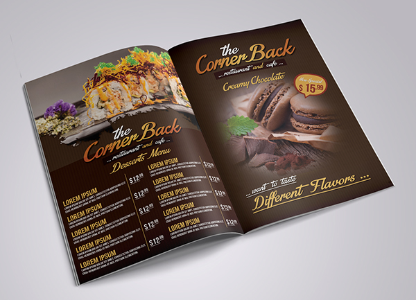 Restaurant And Cafe Menu 5