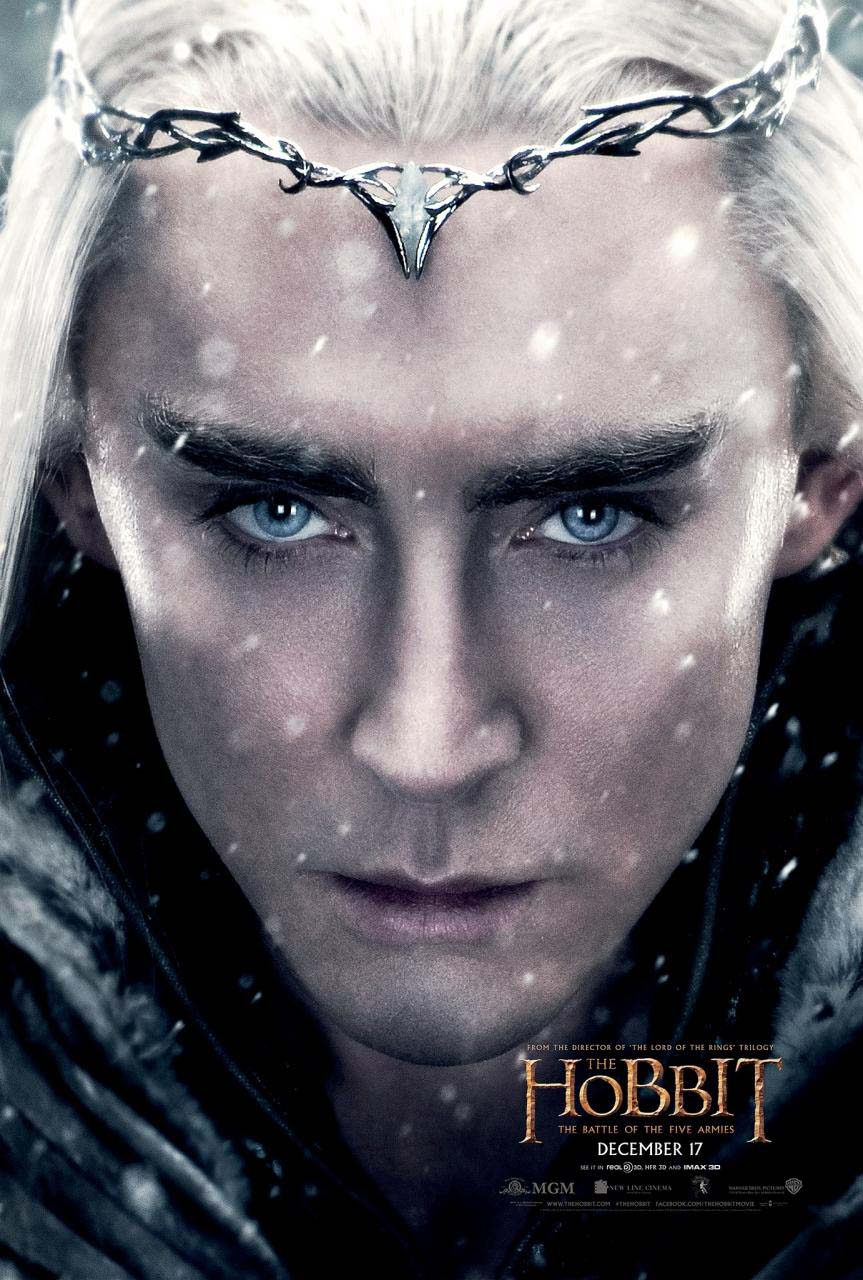 hobbit-battle-five-armies-king-thranduil-poster