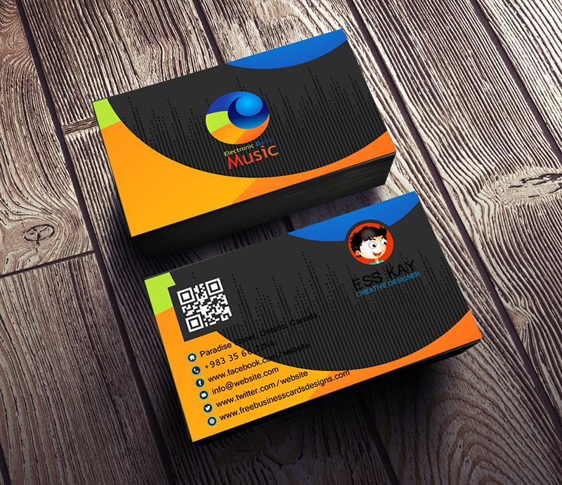 Electronic-Dance-Music-Business-Card