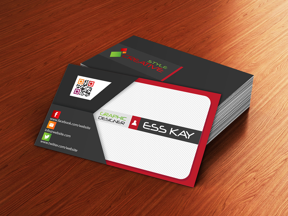 Envelope Style Creative Business Card