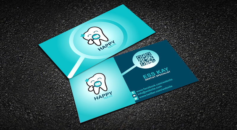 Happy-Teeth-Creative-Business-Card-Template-Design