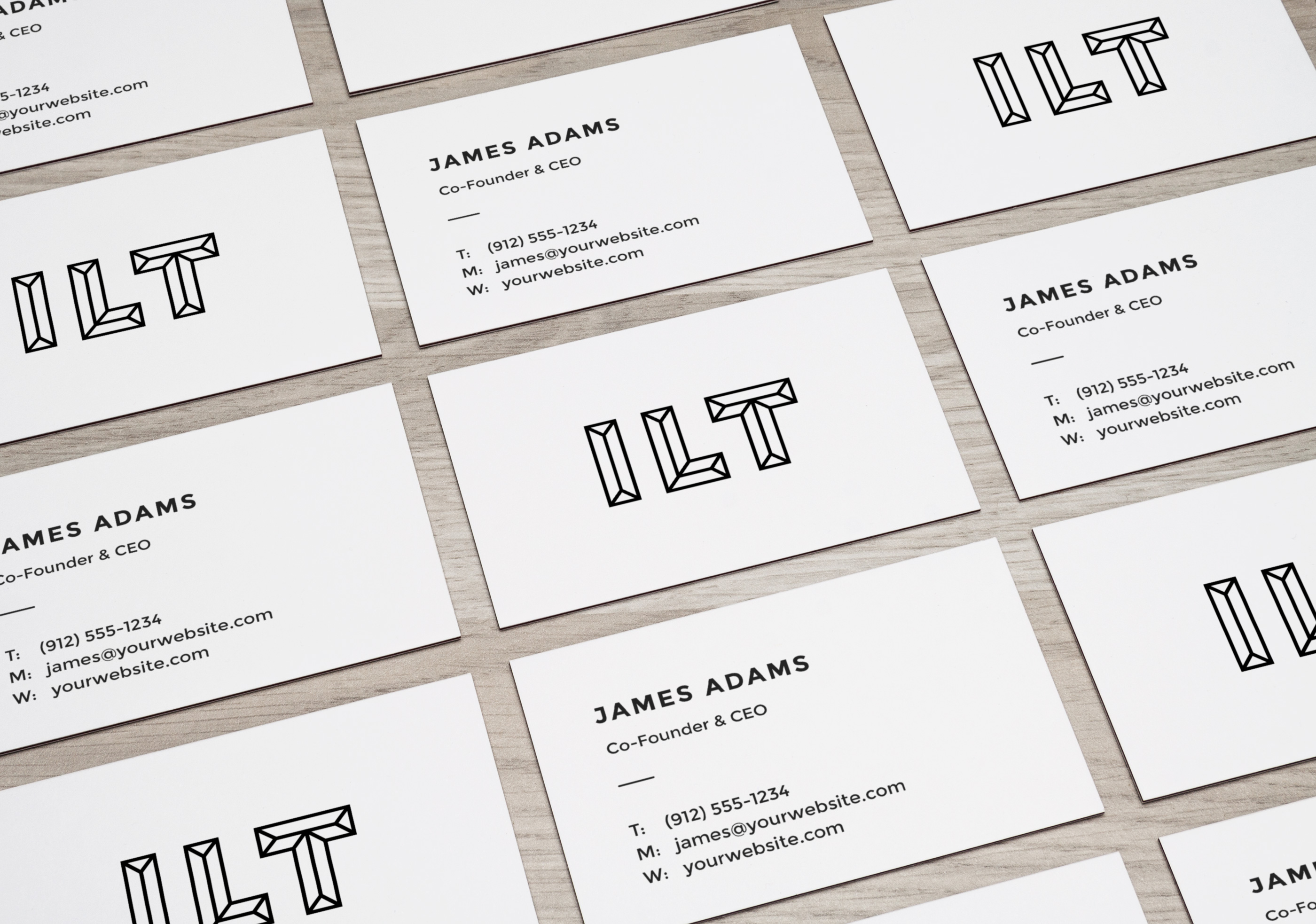 5 free business cards mockups a graphic world
