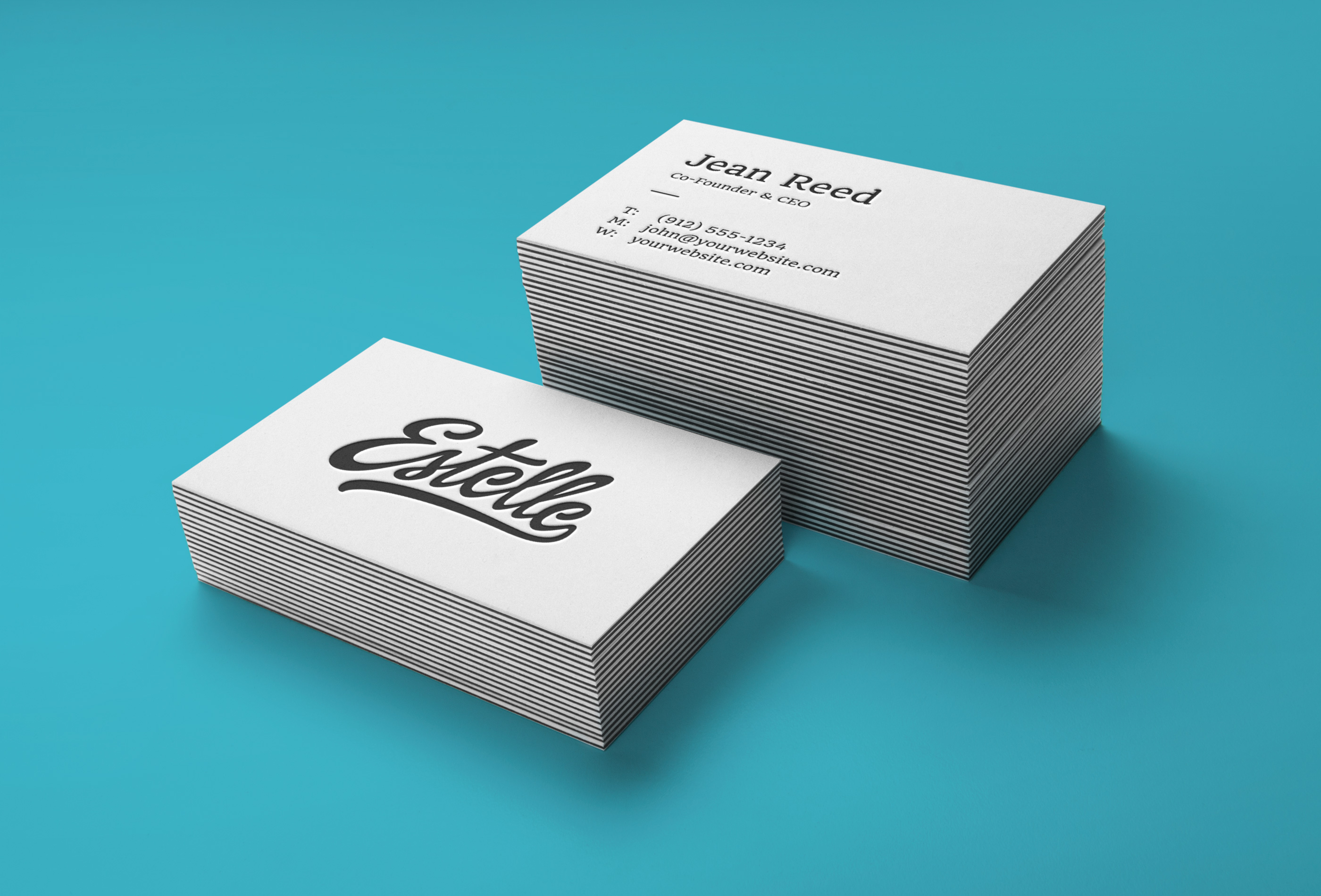 5 Free Business Cards Mockups - A Graphic World