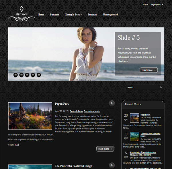 45+ Free WordPress Themes For Your Blogs 2015 - A Graphic World
