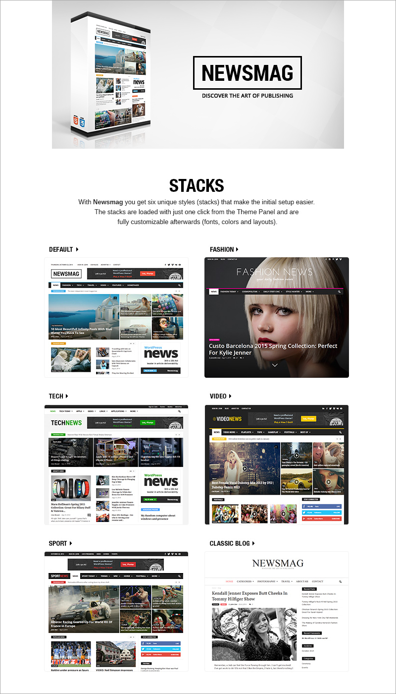 Newsmag - News Magazine Newspaper WordPress Theme