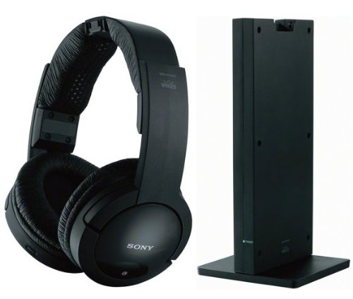 Sony MDRRF985RK RF Wireless Stereo Headphones + DB Tech Digital to Analog Audio Converter For TVs with a Digital Optical Output 1