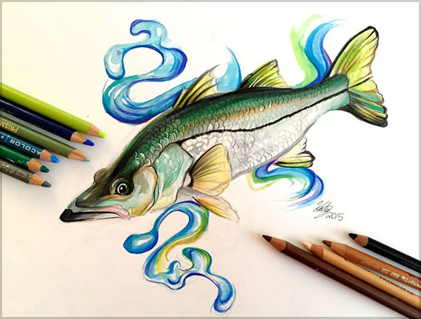 Amazing  Drawing by Katy Lipscomb-1 (10)