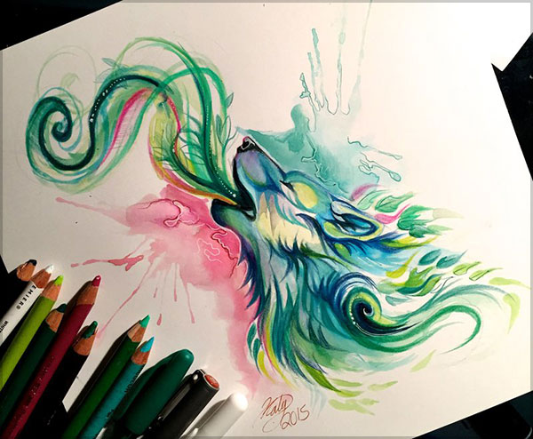 Amazing  Drawing by Katy Lipscomb-1 (17)