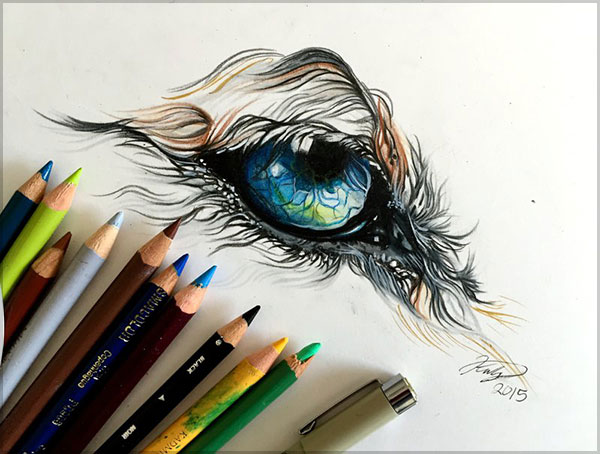 Amazing  Drawing by Katy Lipscomb-1 (4)