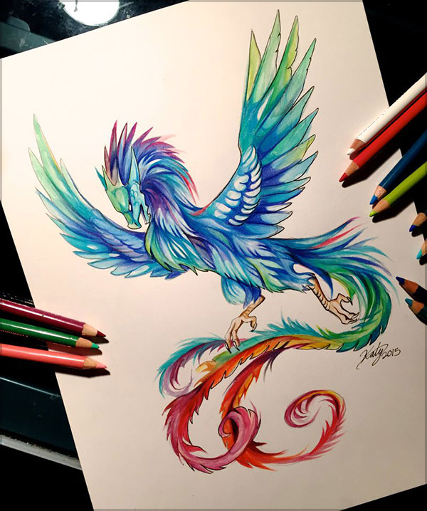 Amazing  Drawing by Katy Lipscomb-1 (8)