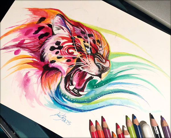 Amazing  Drawing by Katy Lipscomb-1 (9)