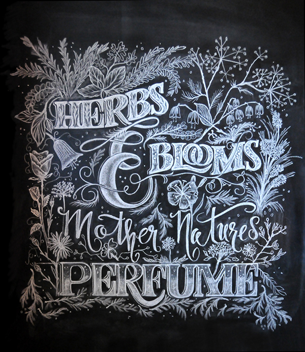 36 Beautiful Hand Lettering And Illustration By Kim Panella 2015 (7)