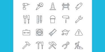 50 Free iOS8 Construction Icons 2015