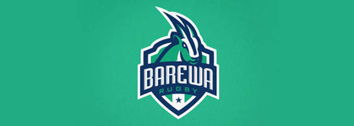 Barewa Rugby illustration logo