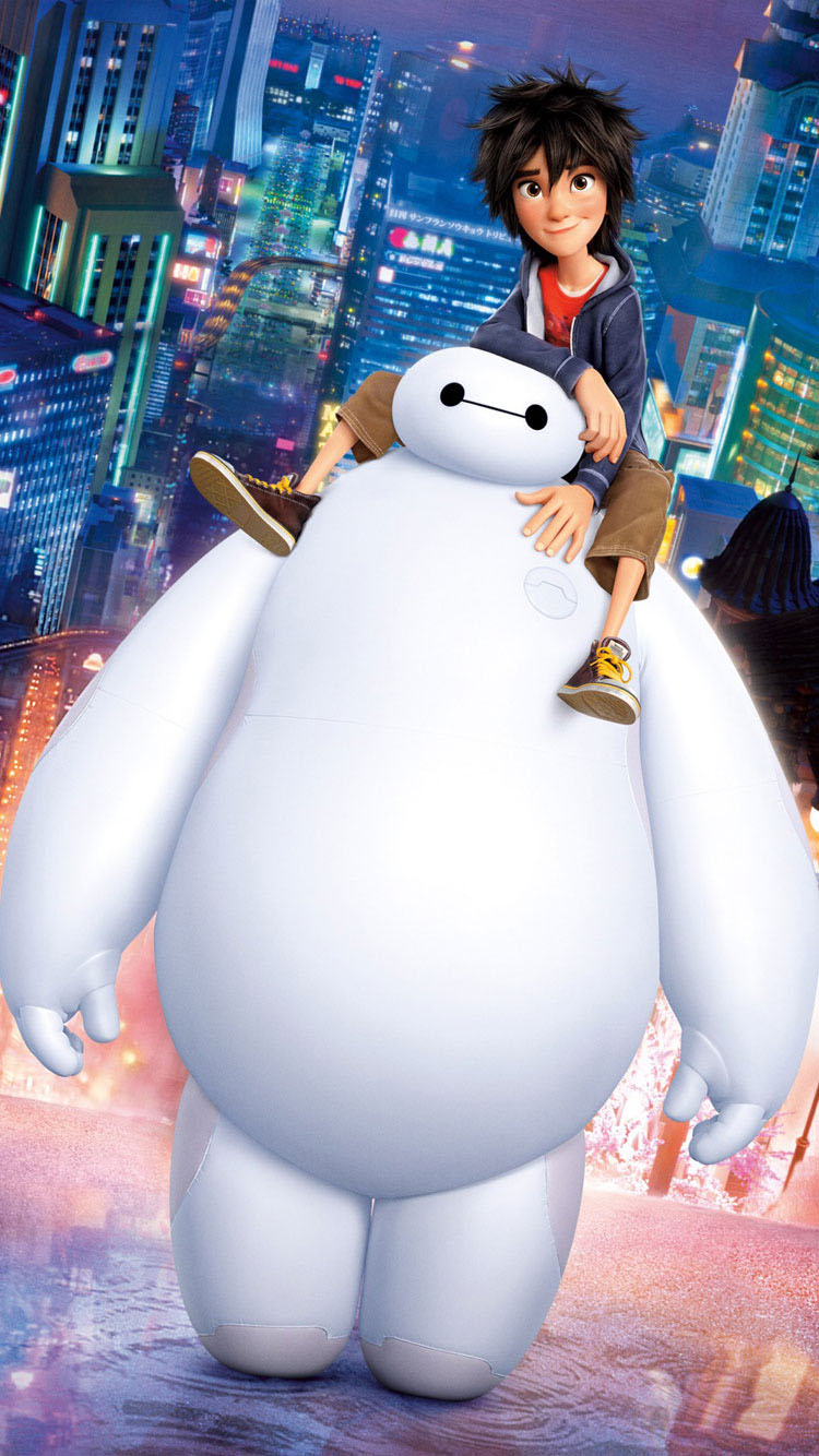 Big-Hero-6-Baymax-iphone-6-wallpaper-Latest-2015
