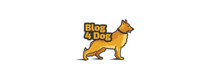 Blog4Dog logo illustration
