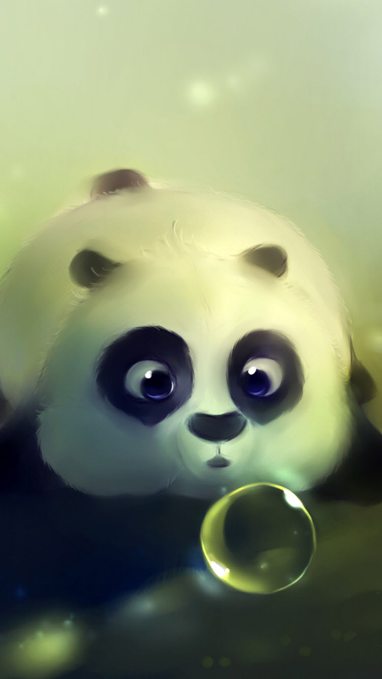 Cute-Panda-iphone-6-wallpaper-Latest-2015