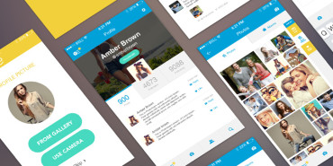 Free Download WOHOO UI Kit For Mobile 2015